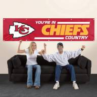 Kansas City Chiefs NFL 8' Banner