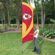 Kansas City Chiefs NFL Tall Team Flag