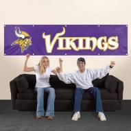 Minnesota Vikings NFL 8' Banner
