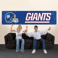New York Giants NFL 8' Banner