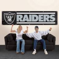 Oakland Raiders NFL 8' Banner