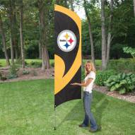 Pittsburgh Steelers NFL Tall Team Flag