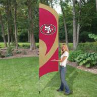 San Francisco 49ers NFL Tall Team Flag