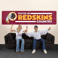 Washington Redskins NFL 8' Banner