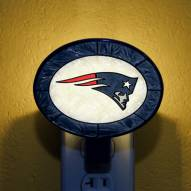 New England Patriots NFL Stained Glass Night Light