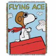 Peanuts Flying Ace Throw Blanket