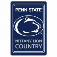 "Penn State Nittany Lions 12"" x 18"" Metal Sign"
