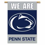 "Penn State Nittany Lions 28"" x 40"" We Are Two-Sided Banner"