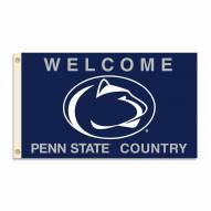 Penn State Nittany Lions 3' x 5' Welcome Flag