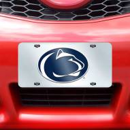 Penn State Nittany Lions Acrylic License Plate