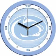 Penn State Nittany Lions Baby Blue Wall Clock