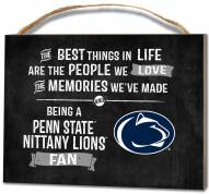 Penn State Nittany Lions Best Things Small Plaque
