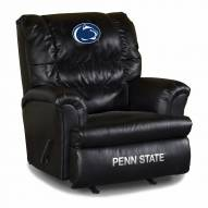 Penn State Nittany Lions Big Daddy Leather Recliner