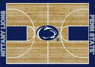 Penn State Nittany Lions College Home Court Area Rug