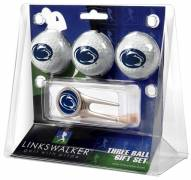 Penn State Nittany Lions Golf Ball Gift Pack with Cap Tool