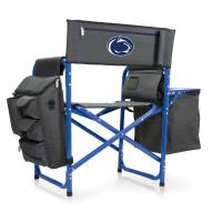 Penn State Nittany Lions Gray/Blue Fusion Folding Chair
