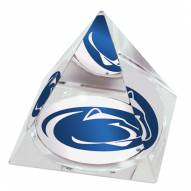 Penn State Nittany Lions Logo Crystal Pyramid
