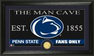 Penn State Nittany Lions Man Cave Bronze Coin Panoramic Photo Mint