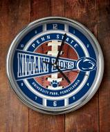 Penn State Nittany Lions NCAA Chrome Wall Clock