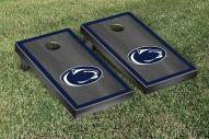 Penn State Nittany Lions Onyx Stained Border Cornhole Game Set