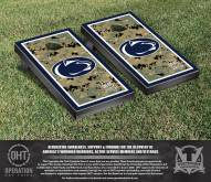 Penn State Nittany Lions Operation Hat Trick Border Cornhole Game Set