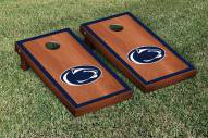 Penn State Nittany Lions Rosewood Stained Border Cornhole Game Set