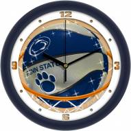 Penn State Nittany Lions Slam Dunk Wall Clock