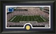 Penn State Nittany Lions Stadium Bronze Coin Panoramic Photo Mint