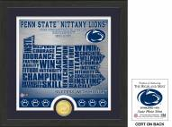 Penn State Nittany Lions State Bronze Coin Photo Mint