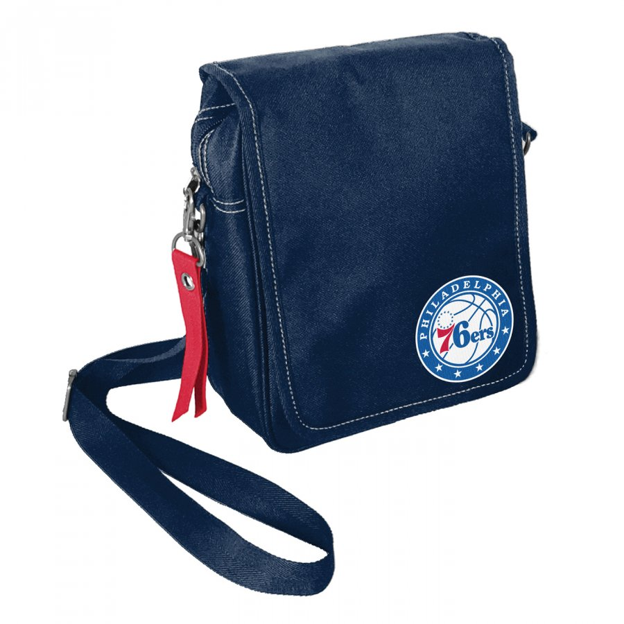 Philadelphia 76ers Ribbon Satchel