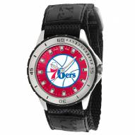Philadelphia 76ers Veteran Velcro Mens Watch