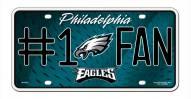 Philadelphia Eagles #1 Fan License Plate