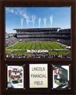 "Philadelphia Eagles 12"" x 15"" Stadium Plaque"