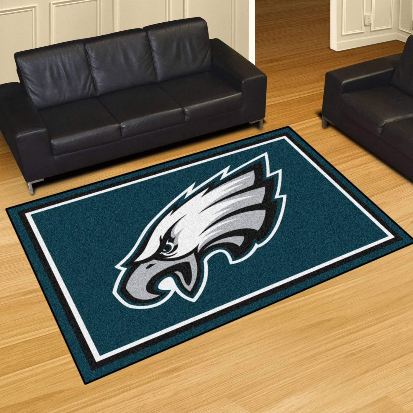 Philadelphia Eagles 5 X 8 Area Rug