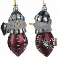 "Philadelphia Eagles 3"" New All-Star Light-Up Snowmen"