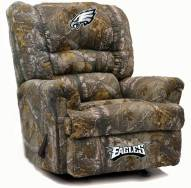 Philadelphia Eagles Big Daddy Camo Recliner