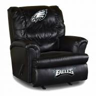 Philadelphia Eagles Big Daddy Leather Recliner