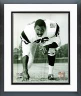 Philadelphia Eagles Bob Brown Posed Framed Photo