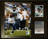 "Philadelphia Eagles Brent Celek 12 x 15"" Player Plaque"