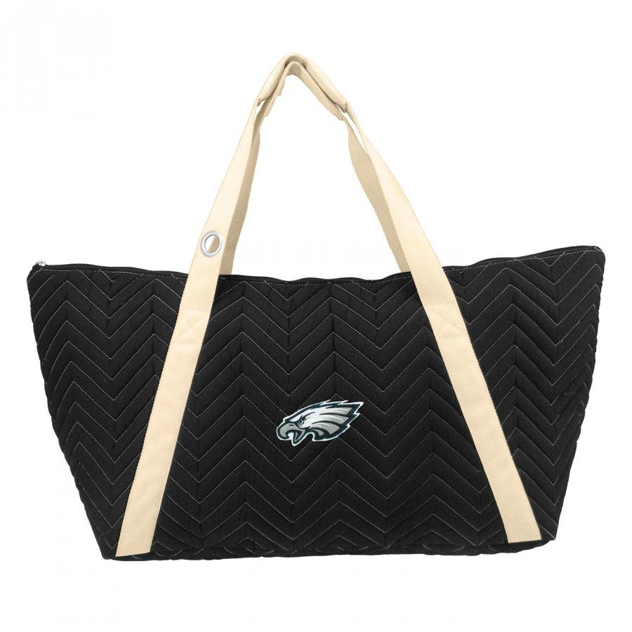 Philadelphia Eagles Chevron Stitch Weekender Bag