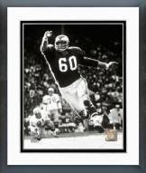 Philadelphia Eagles Chuck Bednarik Action Framed Photo