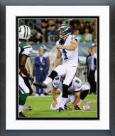 Philadelphia Eagles Cody Parkey 2014 Action Framed Photo