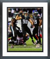 Philadelphia Eagles Connor Barwin 2014 Action Framed Photo