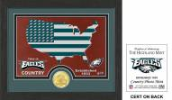 Philadelphia Eagles Country Bronze Coin Photo Mint