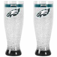 Philadelphia Eagles Crystal Pilsner Glass