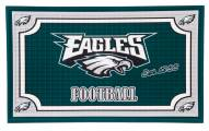 Philadelphia Eagles Embossed Door Mat