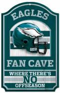 Philadelphia Eagles Fan Cave Wood Sign