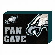 Philadelphia Eagles Fan Cave Wooden Plock