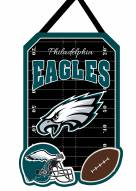 Philadelphia Eagles Felt Door Hanger