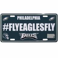 Philadelphia Eagles Hashtag License Plate